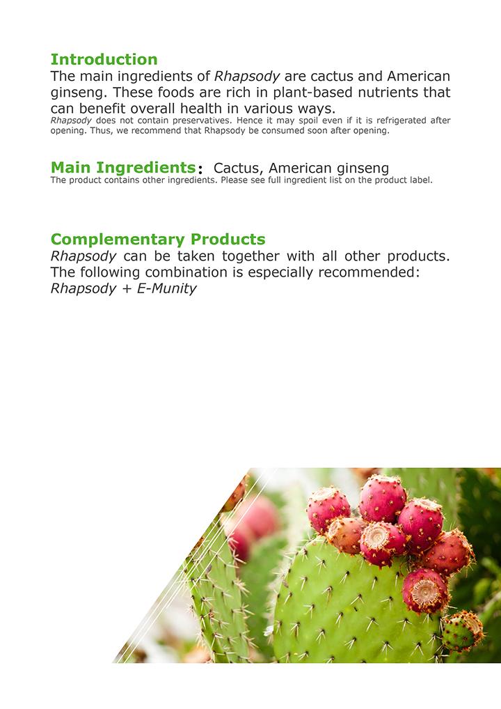 Cactus, Ginseng